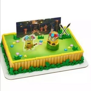Minions Hula Despicable Me 3 figurine cake topper